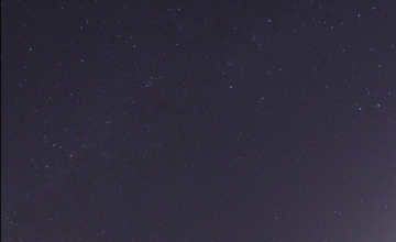 Leonid meteors  shower 2009